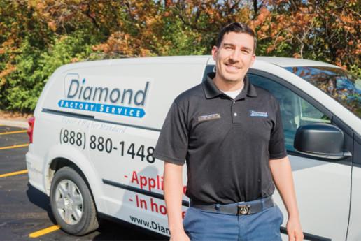 Steve S, Service Appliance Tech at Diamond Factory Service