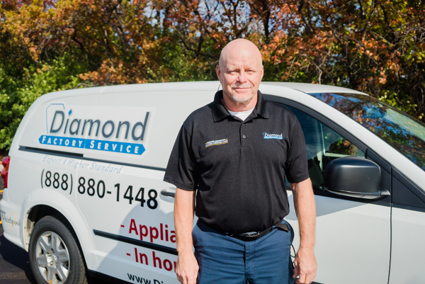Appliance Service Tech at Diamond Factory Service