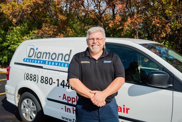 Steve K, Appliance Repair Service Tech