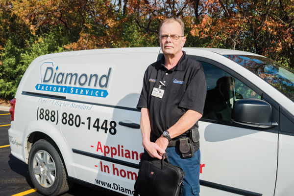 Tom D, Service Appliance Tech at Diamond Factory Service